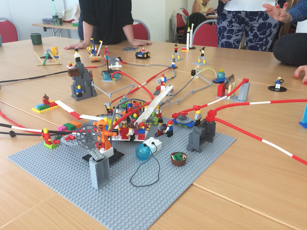 animation d'atelier LEGO SERIOUS PLAY ®